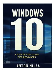 Windows 10: A Step By Step Guide For Beginners