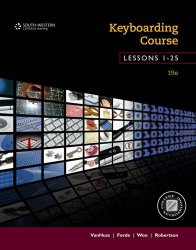 Keyboarding Course, Lessons 1-25: College Keyboarding, Spiral bound