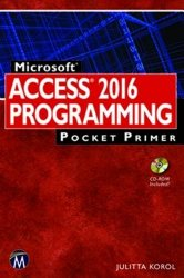 Microsoft Access 2016 Programming Pocket Primer