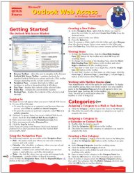 Microsoft Outlook Web Access in Exchange Server 2007 Quick Source Reference Guide