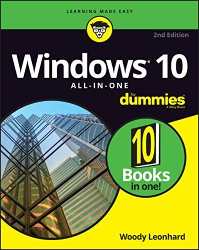 Windows 10 All-In-One For Dummies (For Dummies (Computer/Tech))