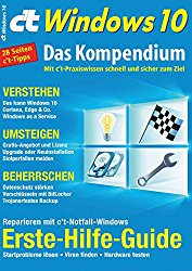 c't Windows 10 (2016): Das Kompendium (German Edition)