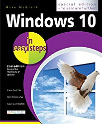 """Windows 10 in easy steps – Special Edition: Covers the """"Redstone 2"""" Update"""