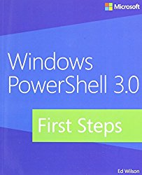 Windows PowerShell 3.0 First Steps