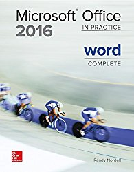 Microsoft Office Word 2016 Complete: In Practice